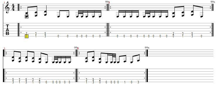 Guitar metal guitar tabs : Metal Rhythm | Guitar Lessons @ Ultimate-Guitar.Com