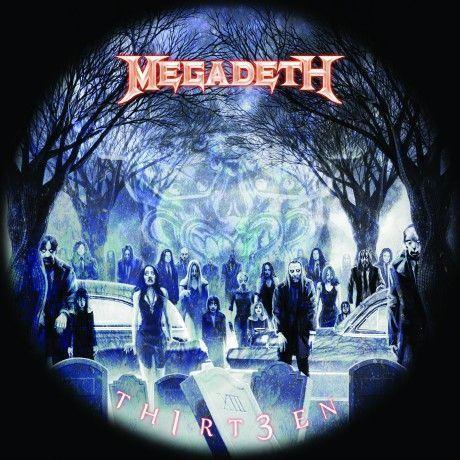 Megadeth: Artwork And Tracklist For 'Th1rt3en' Revealed ...