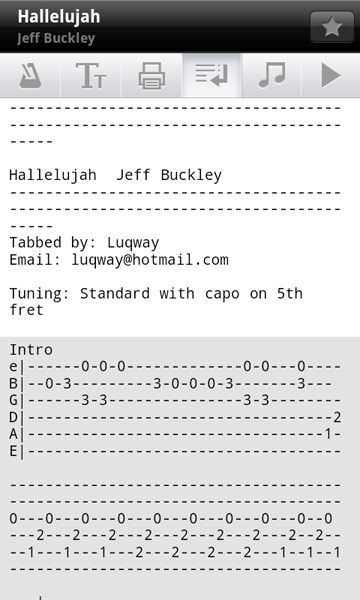 Ultimate Guitar Tabs Update 1.7.0 : Music News @ Ultimate-Guitar.Com