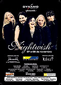 nightwish: Brazil (Sao Paulo), November 8, 2008