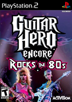 Music Simulator: Guitar Hero Encore: Rock The '80s
