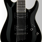 Schecter: C-7 Blackjack