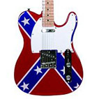 Main Street: Rebel Flag Tele