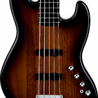 Squier: Deluxe Jazz Bass V Active