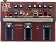 Boss: AD-8 Acoustic Guitar Processor