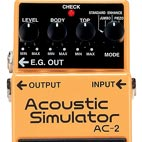 Boss: AC-2 Acoustic Simulator