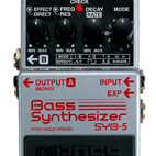 Boss: SYB-5 Bass Synthesizer