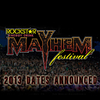 Mayhem Festival 2013 Lineup Officially Announced