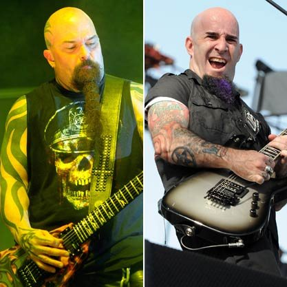 Anthrax's Scott Ian And Slayer's Kerry King Share Dimebag Drinking Stories