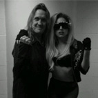 Lady Gaga Rocks To Queen & Iron Maiden