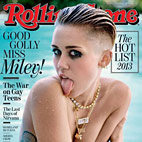 Rolling Stone Put Miley Cyrus on Front Cover Over Nirvana and Pearl Jam