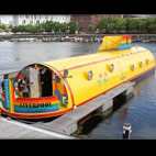 Floating 'Yellow Submarine' Hotel Opens In Liverpool