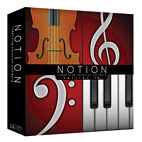 Notion Music Releases Notion 4.0 Music Notation Software