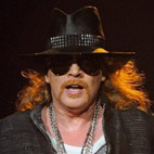 Axl Rose Parties In Israel