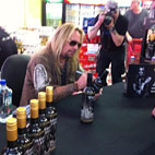 Motley Crue Singer Launches His Own Brand Of Vodka