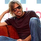 Taylor Hawkins as Iggy Pop in 'CBGB' Movie