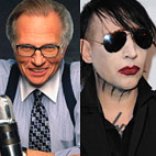 Larry King Interviews Marilyn Manson