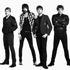 Kasabian Incite Giant Cushion Fight