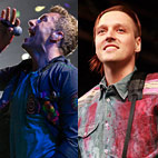 Coldplay's Chris Martin DJ'd for Arcade Fire